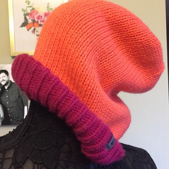 4bffc94c22d ... TNF Shinsky slouch hat pink orange. M 5a904d948df4702f056de135